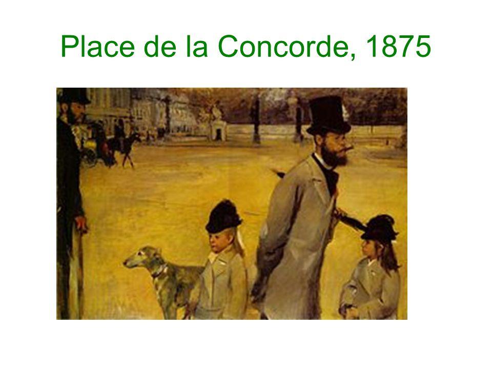 Place de la Concorde, 1875