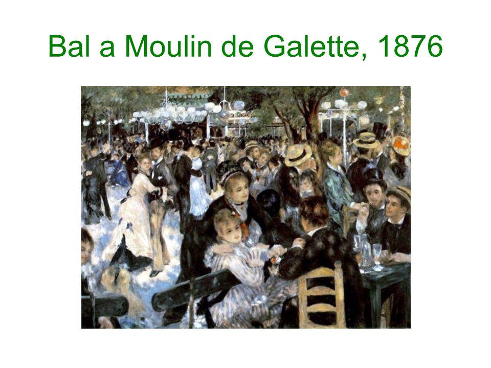 Bal a Moulin de Galette, 1876