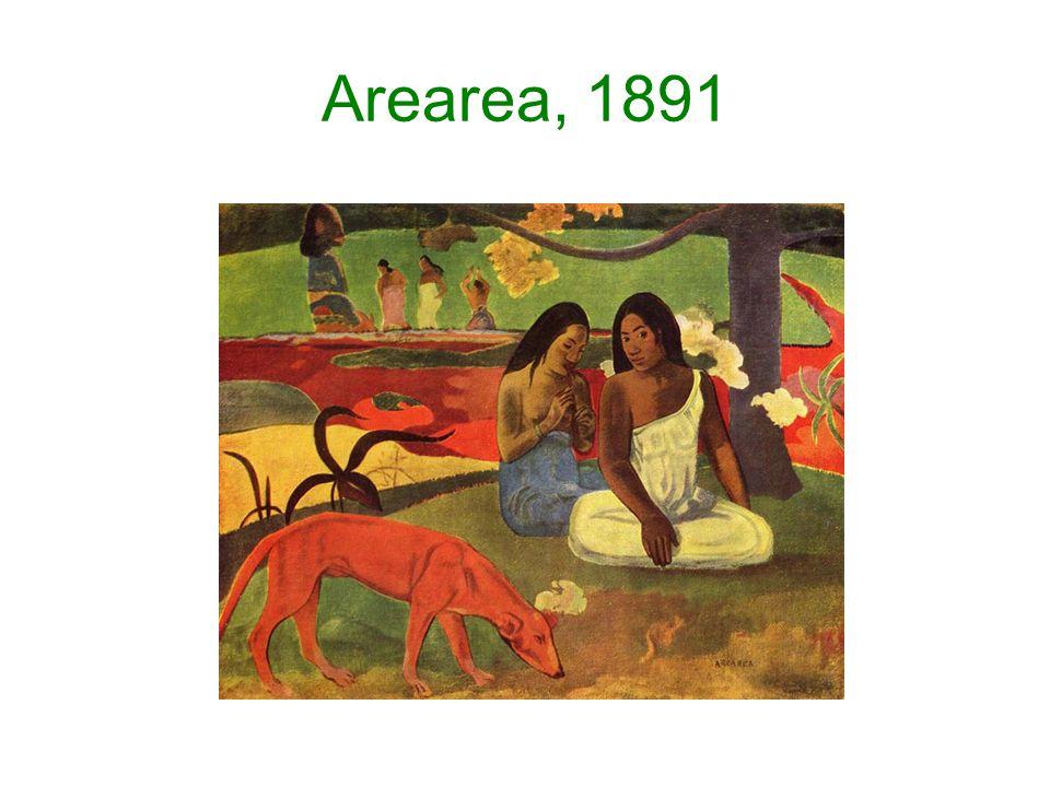 Arearea, 1891