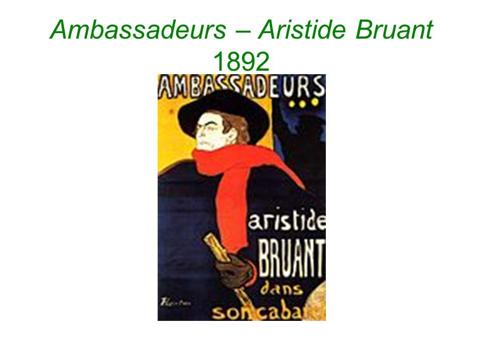 Ambassadeurs – Aristide Bruant 1892