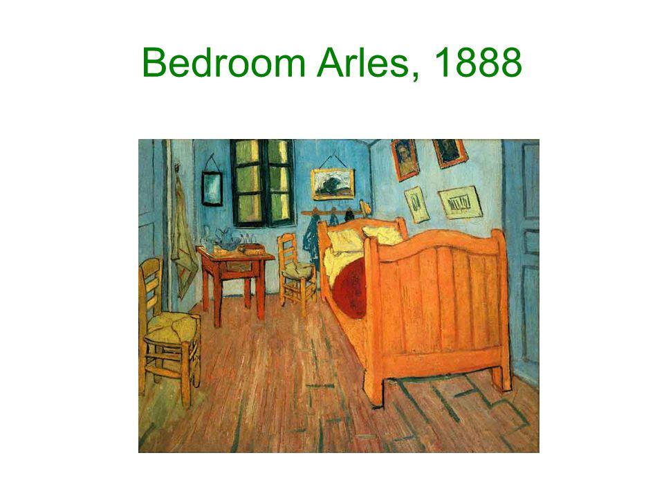 Bedroom Arles, 1888