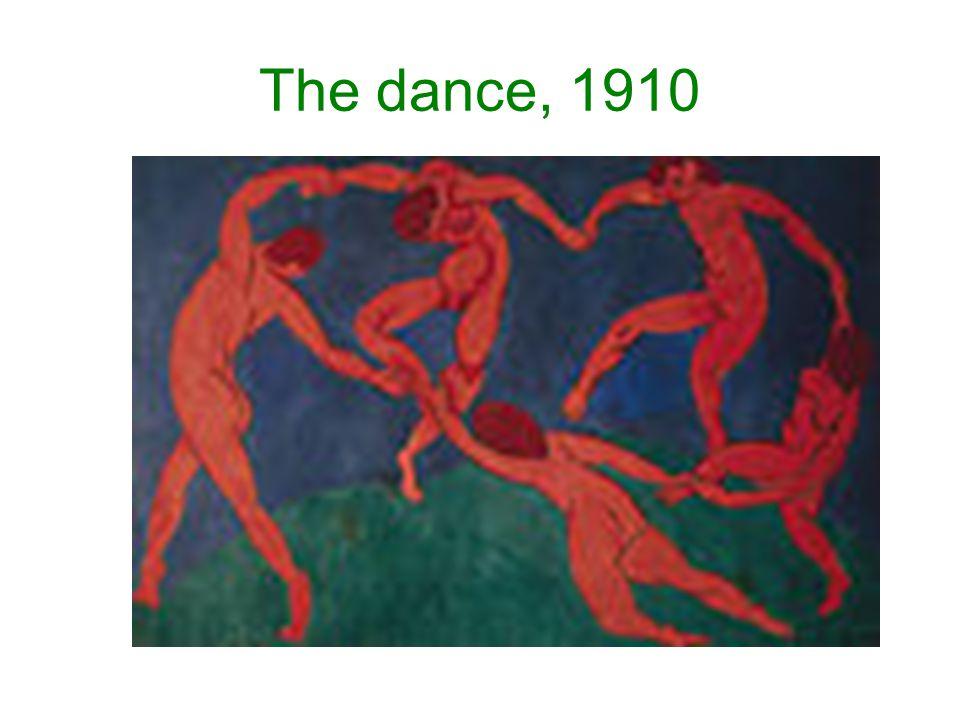 The dance, 1910