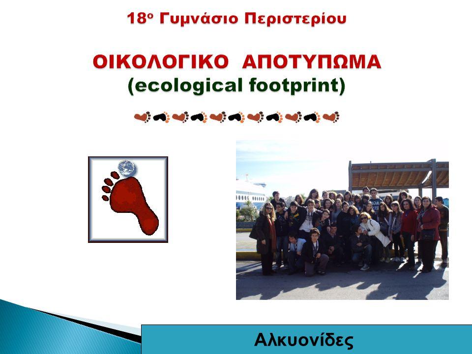 Οι μαθητές του 18ου Γυμνασίου Περιστερίου1 Αλκυονίδες