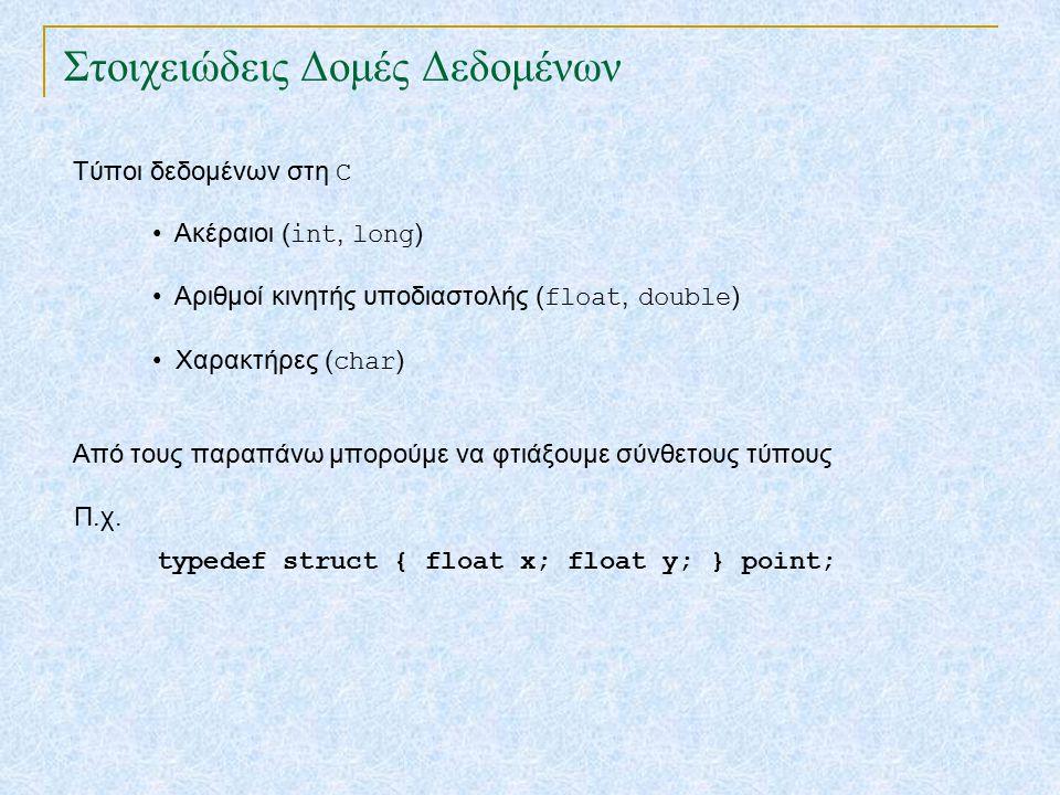 Στοιχειώδεις Δομές Δεδομένων TexPoint fonts used in EMF.