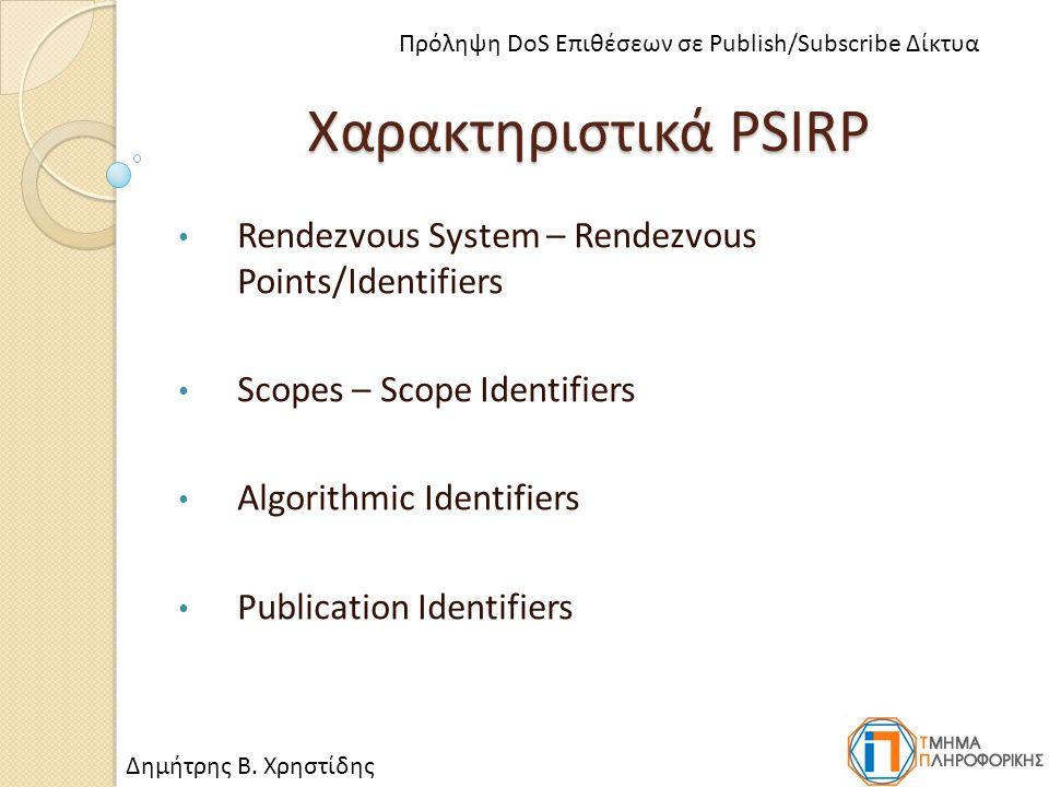 Επιθέσεις DoS Χρησιμοποιούν υπηρεσίες του δικτύου Καταναλώνουν ή αλλοιώνουν δικτυακούς πόρους Καθιστούν συγκεκριμένες υπηρεσίες μη- διαθέσιμες Αυξάνονται και εκσυγχρονίζονται Smurf Attacks (ICMP Flooding) SYN Flooding Attacks DNS Cache Poisoning Δημήτρης Β.
