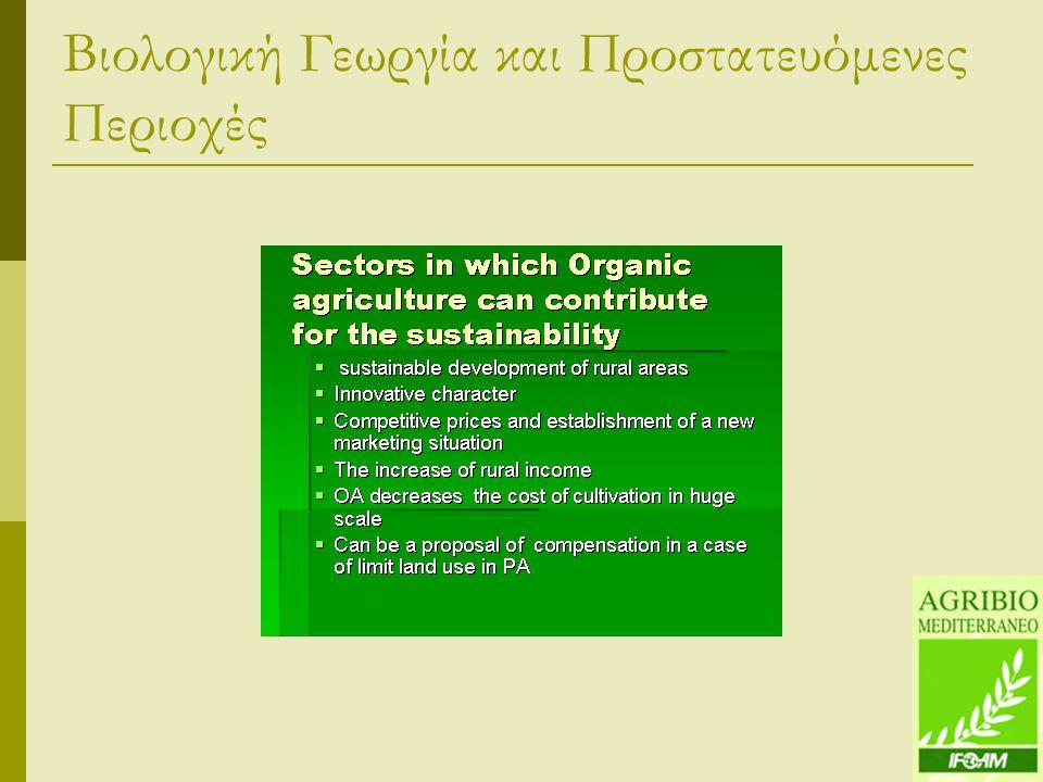 Βιολογική Γεωργία και Προστατευόμενες Περιοχές