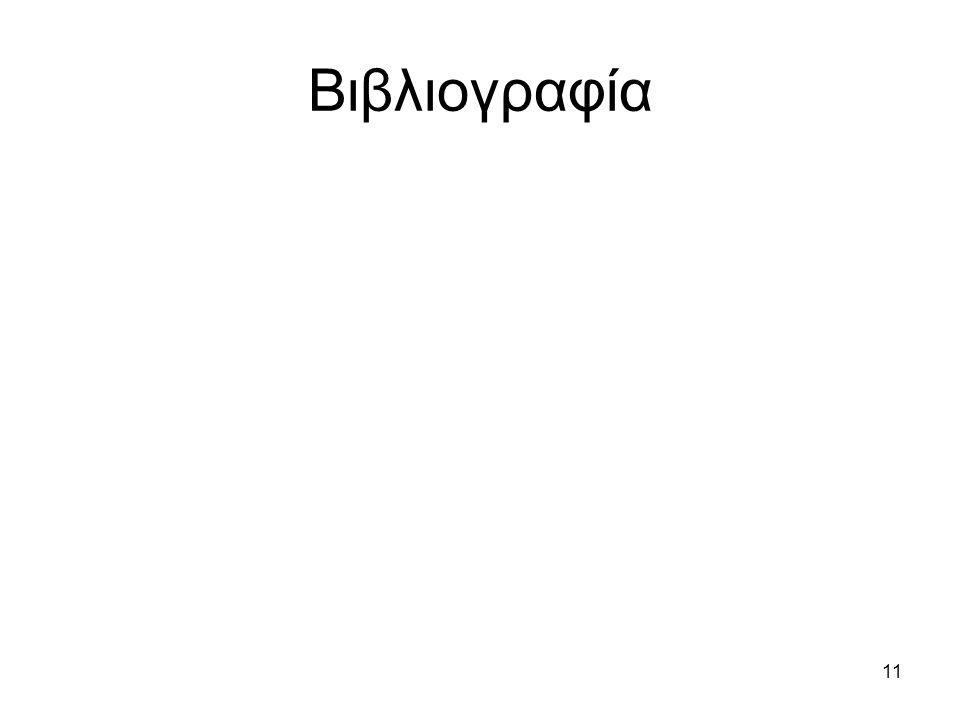11 Βιβλιογραφία