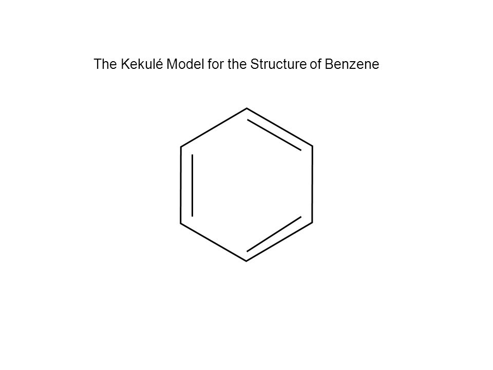 The Kekulé Model for the Structure of Benzene