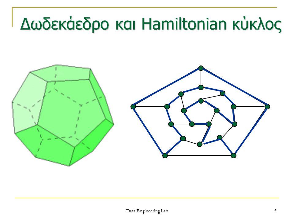 Δωδεκάεδρο και Hamiltonian κύκλος Data Engineering Lab 5