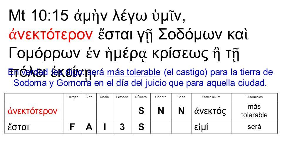 244.ἀ πόλλυμι, ἀ πολέσω o ἀ πολ ῶ, ἀ πώλεσα: destruir, matar (act); perecer morir (med) (90) 245.