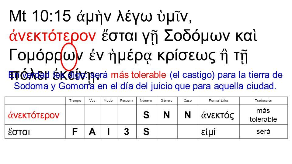 247.ε ἷ ς, μία, ἕ ν: uno (344) 248. δύο: dos (135) 249.