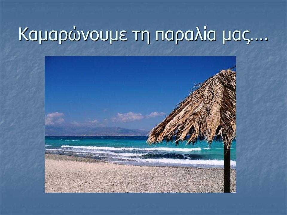 Καμαρώνουμε τη παραλία μας….