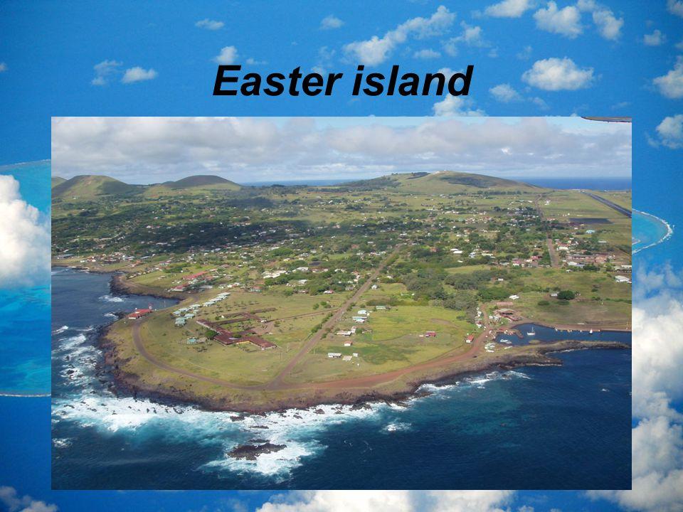 Το νησί του Πάσχα βρίσκεται στο νοτιοανατολικό ειρηνικό ωκεανό.
