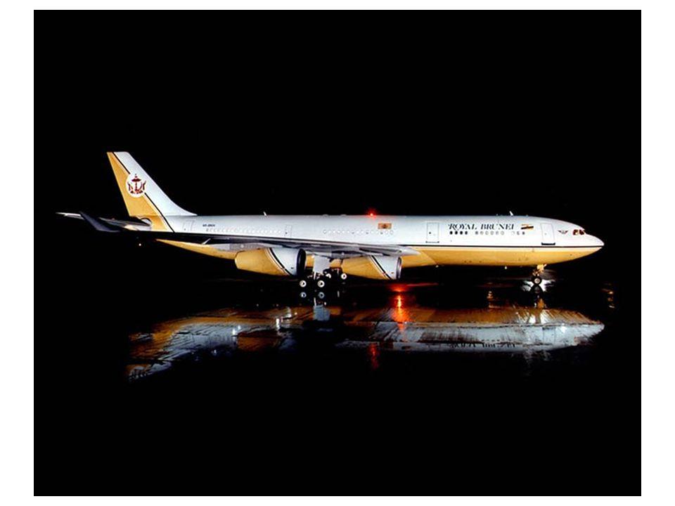 ΙΔΙΩΤΙΚΟ ΑΕΡΟΣΚΑΦΟΣ A340 – ΙΔΙΟΚΤΗΤΗΣ: ΣΟΥΛΤΑΝΟΣ ΤΟΥ ΜΠΡΟΥΝΕΙ