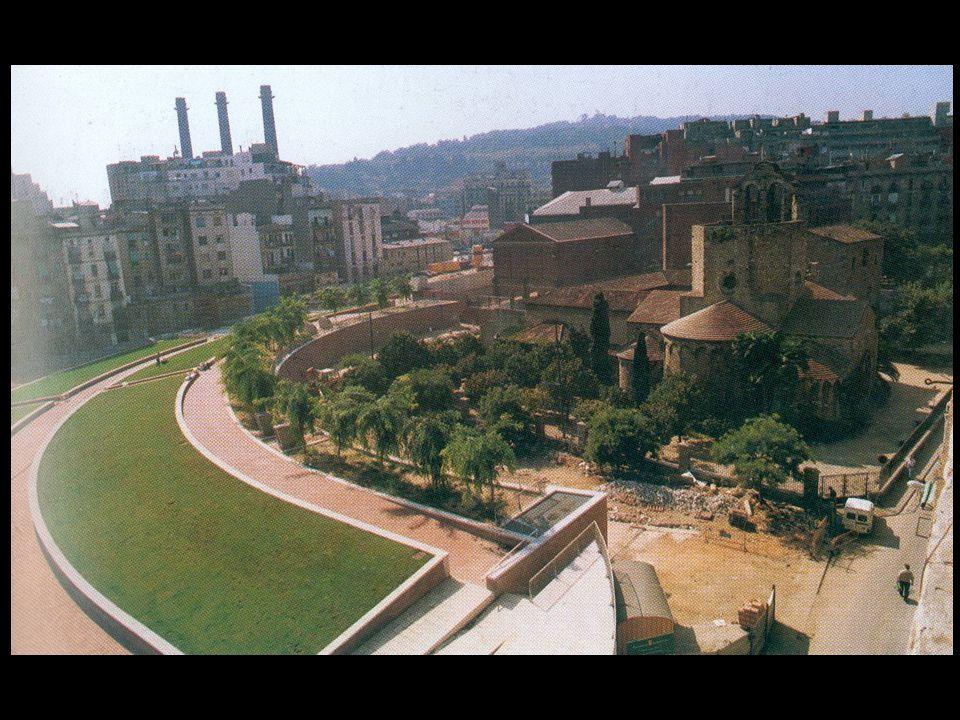 BAPKEΛΩNH πλατεία Serrat έκταση 2.635 τ.μ.αρχιτέκτονες: Jordi Henrich, J.