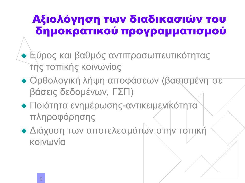 10 Το μέλλον Οι συμβατικές και ηλεκτρονικές δημόσιες σχέσεις και προγράμματα επικοινωνίας της Τοπικής Αυτοδιοίκησης: Συμβάλλουν στην ενδυνάμωση της τοπικής κουλτούρας για «συμμετοχική δημοκρατία» Επιτρέπουν την εξωστρέφεια και τη συνεργασία, στο πλαίσιο των νέων κοινωνικών και οικονομικών εξελίξεων (σύνδεση του τοπικού με το διεθνές) Υπό προϋποθέσεις και μέσω της μείωσης του ψηφιακού χάσματος, υποστηρίζουν τη μετάβαση από την ηλεκτρονική διακυβέρνηση στην ηλεκτρονική δημοκρατία