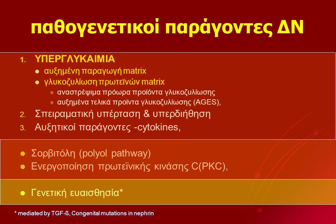παθογενετικοί παράγοντες ΔΝ 1.1.