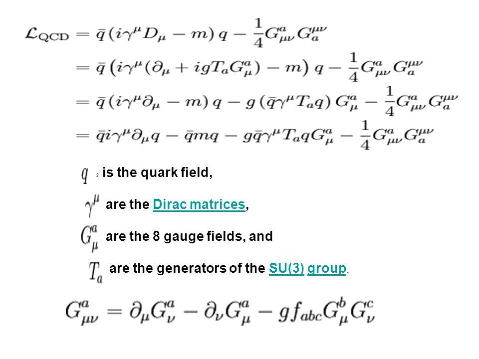 Ο φορέας της ισχυρής δύναμης είναι το χρώμα Τα quarks είναι φερμιόνια Τα quarks φέρουν το χρώμα όπως το ηλεκτρικό φορτίο.