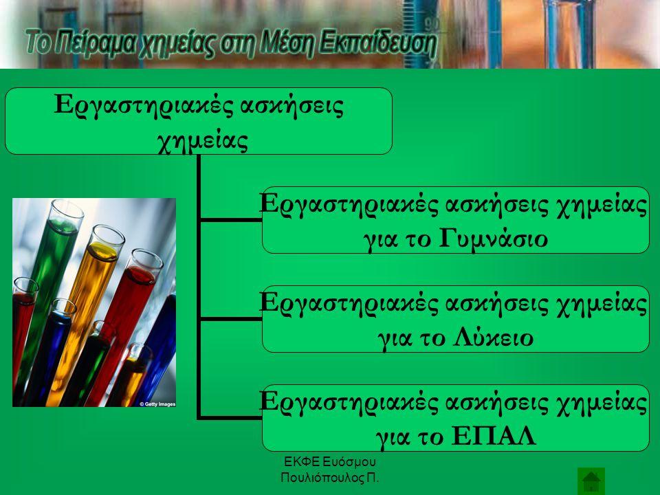 ΕΚΦΕ Ευόσμου Πουλιόπουλος Π. Na + 2 H 2 O  2 NaOH + H 2 ↑