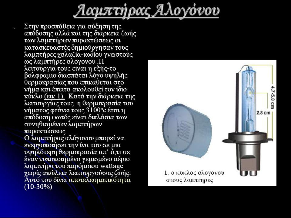 Λάμπα υδραργύρου Ο λαμπτήρας ατμού υδραργύρου αποτελείται κυρίως από ένα τόξο.