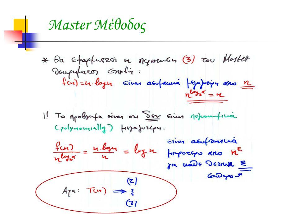 Master Μέθοδος