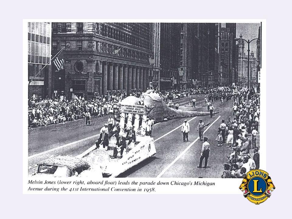 Λέσχη Lions Edmonton (Νοέμβριος 1959) Διεθνές Συνέδριο Lions 1960 ( Το τελευταίο που παρακολούθησε )