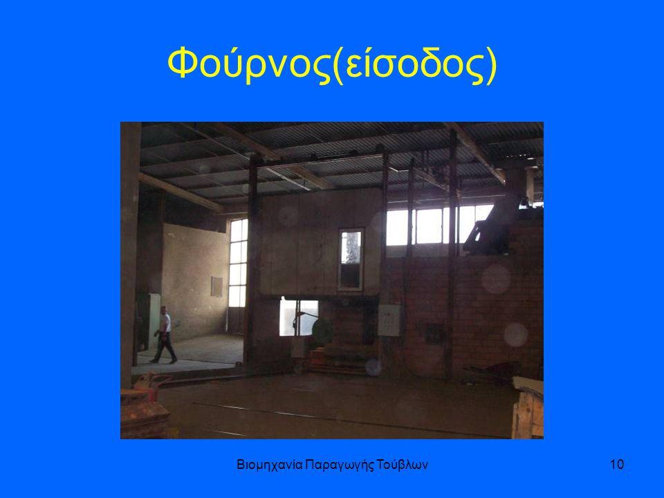 Βιομηχανία Παραγωγής Τούβλων10 Φούρνος(είσοδος)