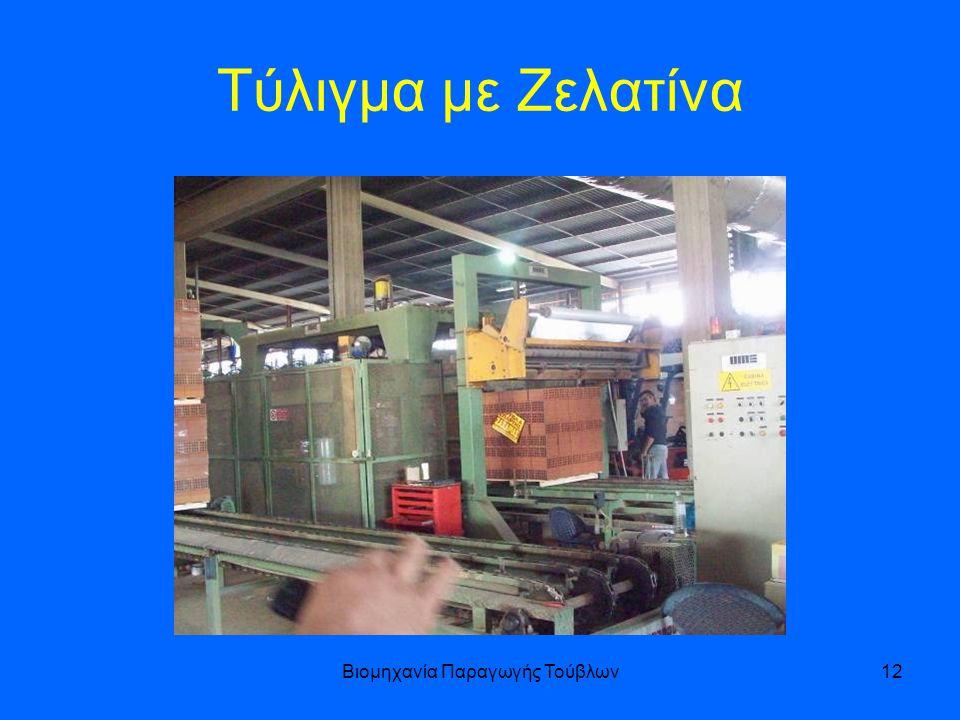 Βιομηχανία Παραγωγής Τούβλων12 Τύλιγμα με Ζελατίνα