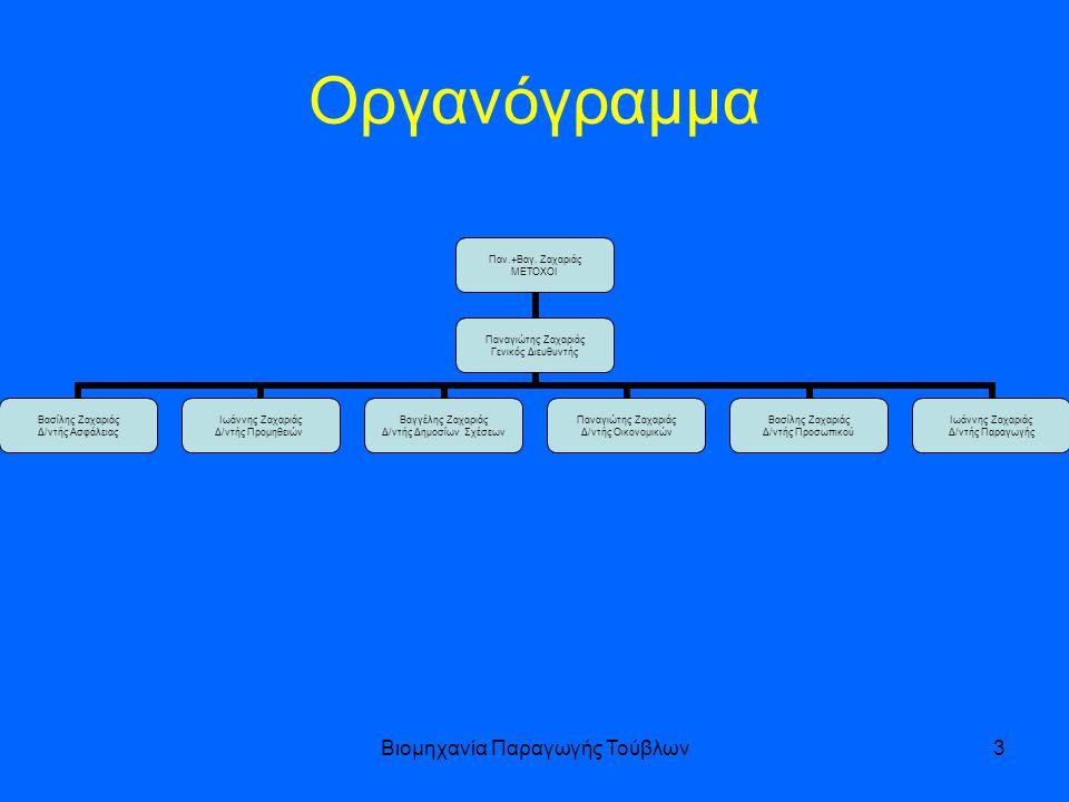 Βιομηχανία Παραγωγής Τούβλων3 Οργανόγραμμα Παν.+Βαγ.