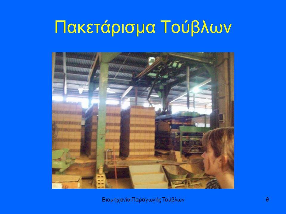 Βιομηχανία Παραγωγής Τούβλων9 Πακετάρισμα Τούβλων