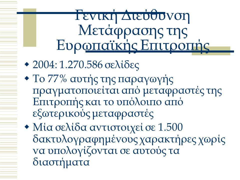 Βάσεις δεδομένων της ΕΕ  ΙΑΤΕ Inter Agency Terminology Exchange  Eurodicautom  EUTERPE  ΤΙS Terminological Information System