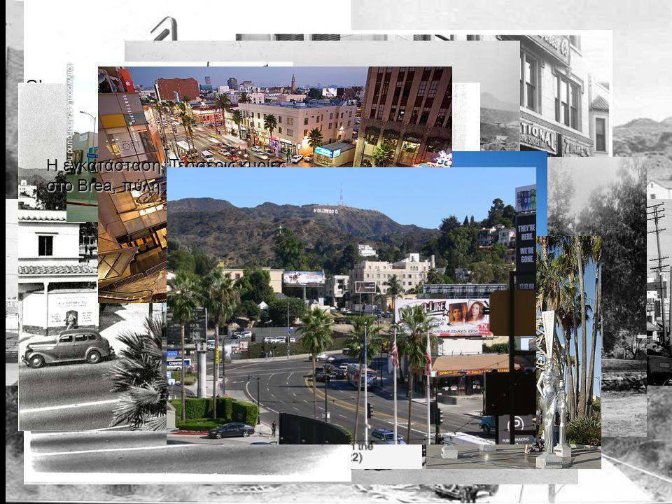 Χόλιγουντ, 1905 Hollywood Hotel Η τομή του Hollywood and Highland, 1907 Glen-Holly Ξενοδοχείο, το πρώτο ξενοδοχείο στο Χόλιγουντ, στη γωνία του που είναι τώρα η Yucca Street.