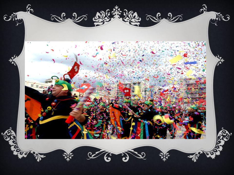 ΙΣΤΟΡΙΚΗ ΑΝΑΔΡΟΜΗ  Το Πατρινό καρναβάλι είναι η μεγαλύτερη αποκριάτικη εκδήλωση στην Ελλάδα. Μετρά 180 χρόνια ιστορίας. Οι εκδηλώσεις αρχίζουν στις 1