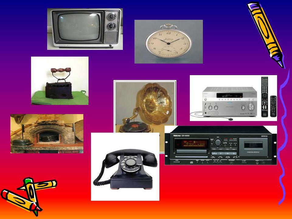 ΣΤΑ ΠΑΛΙΑ ΧΡΟΝΙΑ(2ο) Επίσης υπήρχαν Φούρνος με ξύλα, κουρδιστά ρολόγια, βιντεοκασέτα,κασετόφωνο, τηλέφωνο με καντράν……
