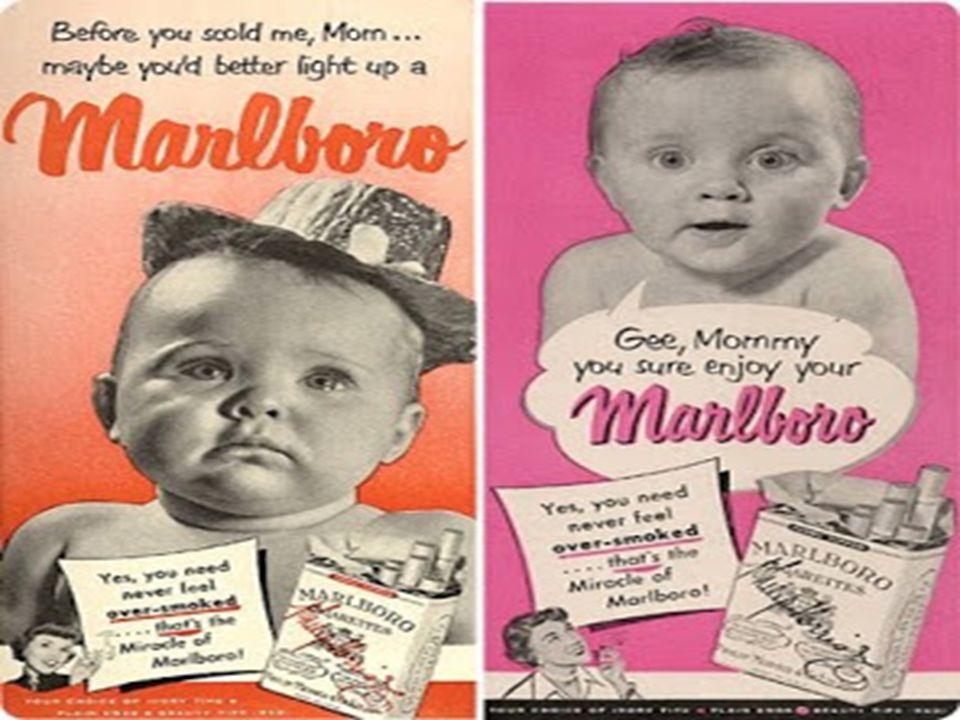 Όπως έδειξαν οι δείκτες πωλήσεων, της φερώνυμης εταιρείας τσιγάρων, τα marlboro δεν έκαναν και πολλά … τσιγάρα δρόμο ως «γυναικεία» τσιγάρα.