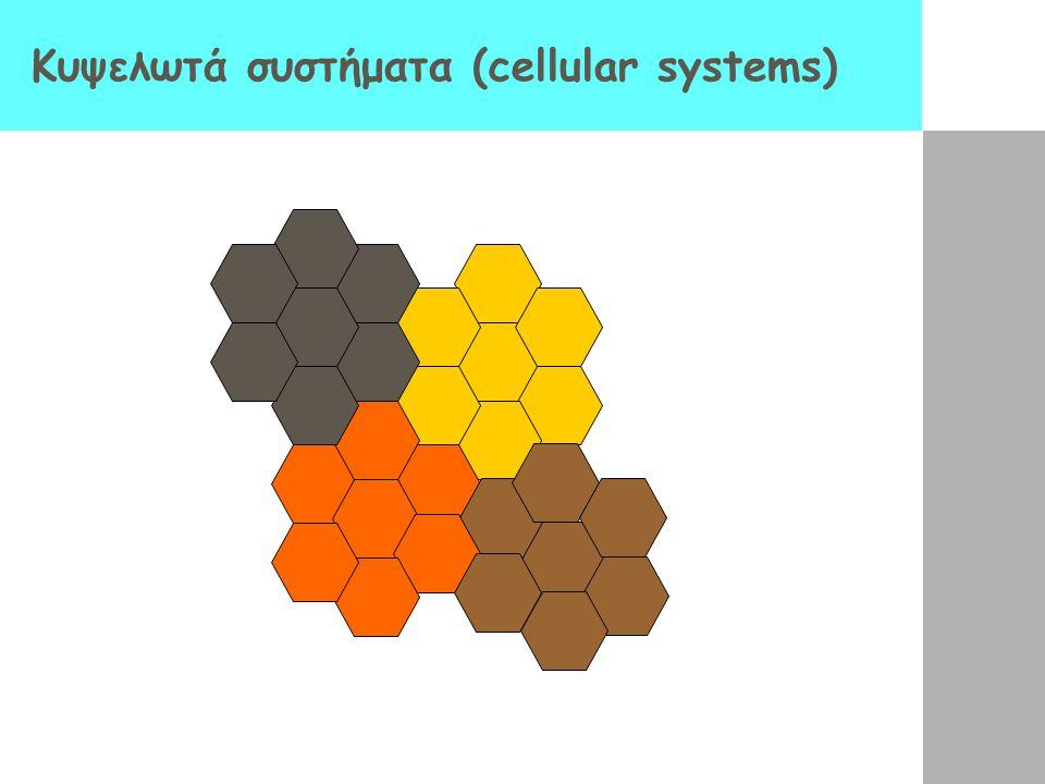 Κυψελωτά συστήματα (cellular systems)
