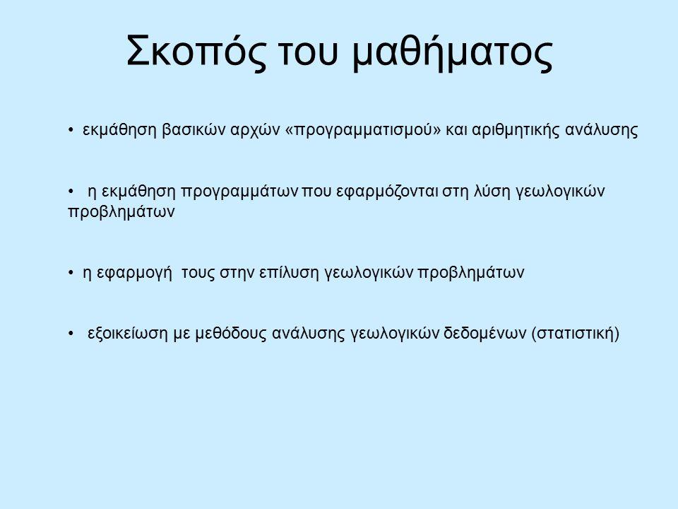 Παραδείγματα…