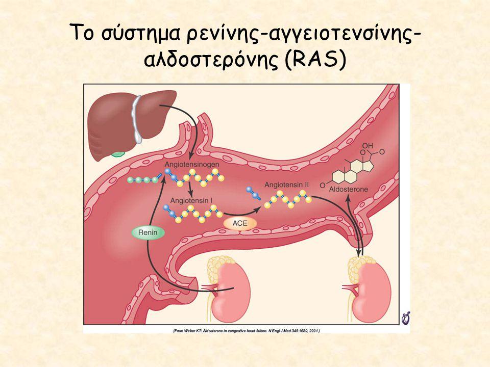 Το σύστημα ρενίνης-αγγειοτενσίνης- αλδοστερόνης (RAS)