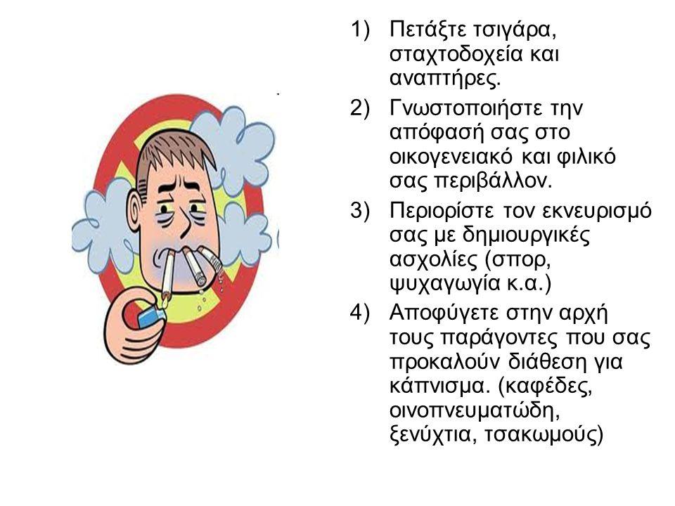 Συμβουλές για όσους έχουν αποφασίσει να κόψουν το κάπνισμα.