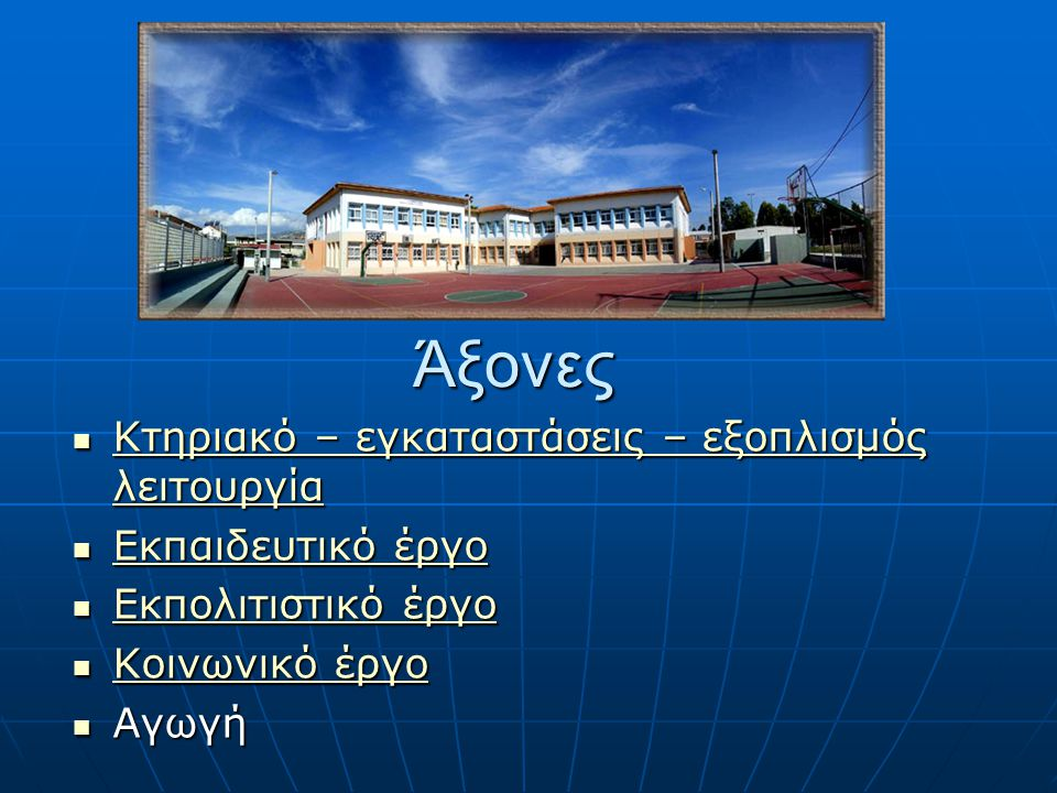 Εκπαιδευτικά προγράμματα Γ.
