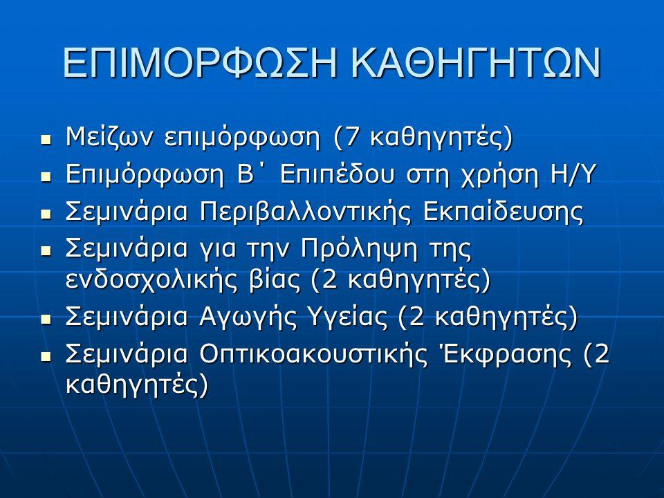 Ενδοσχολική παρέμβαση της Κοινωνικής Υπηρεσίας του Δήμου με εισηγητικές ομιλίες στα 5 τμήματα της Α΄Λυκείου από την κοινωνιολόγο κ.