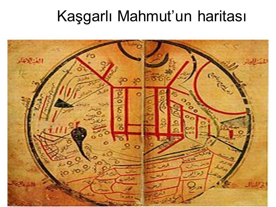 Kaşgarlı Mahmut'un haritası