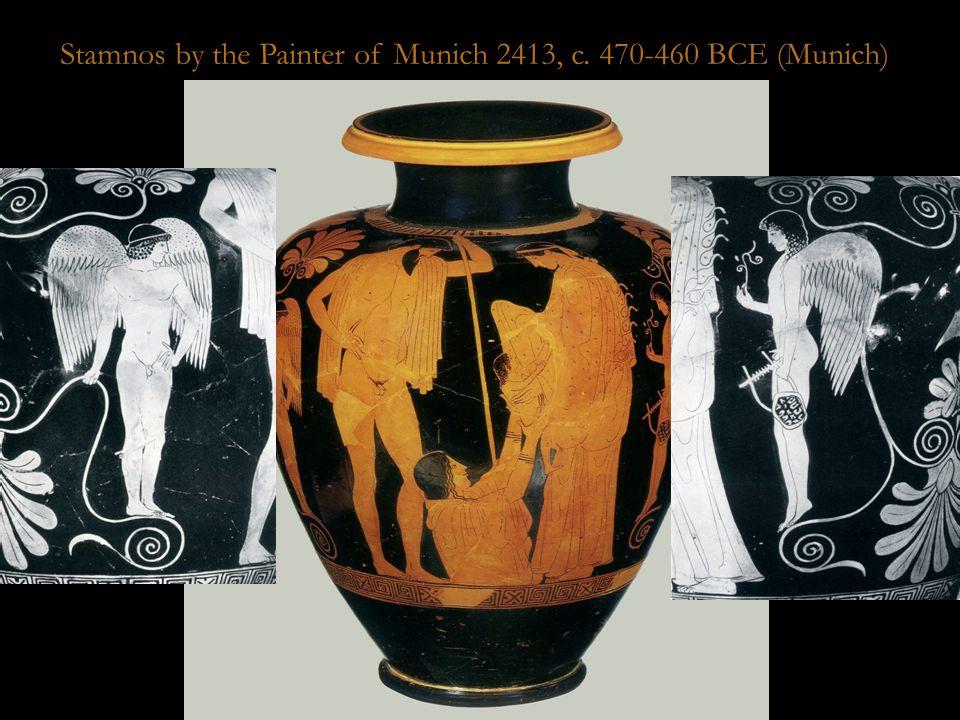 Munich Stamnos Stamnos by the Painter of Munich 2413, c. 470-460 BCE (Munich)