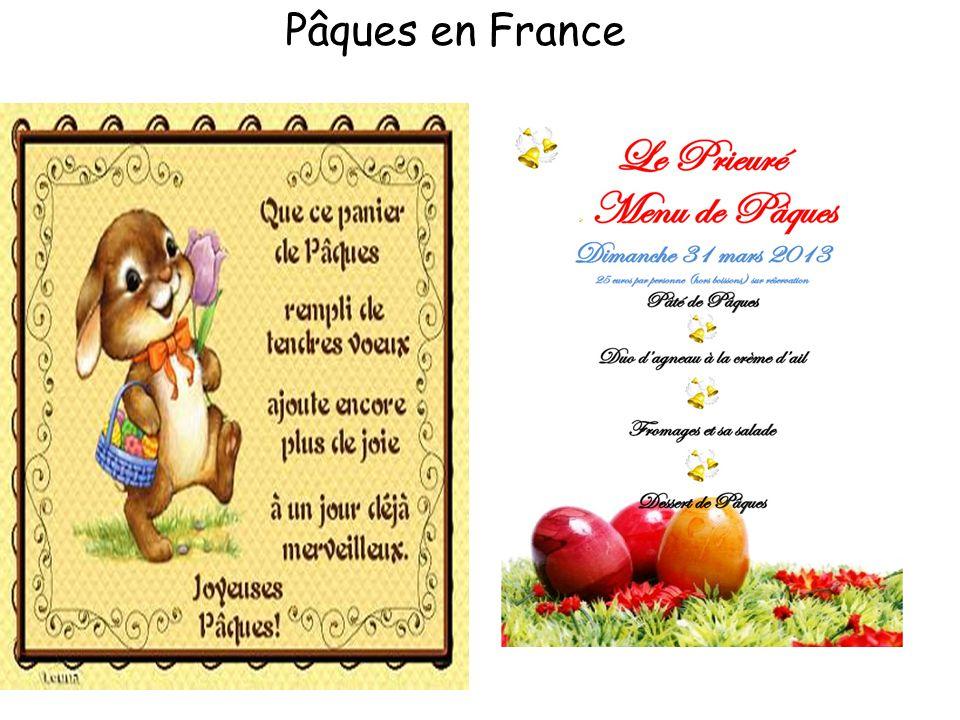Pâques en France
