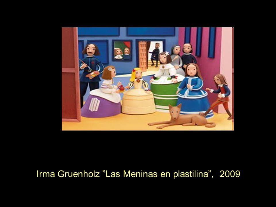 Irma Gruenholz Las Meninas en plastilina , 2009