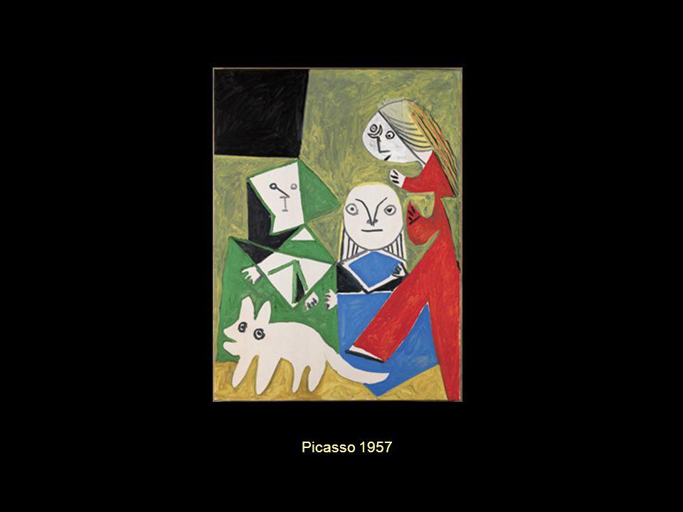 Richard Hamilton s Picasso s Las Meninas (mixture of the original and Picasso s interpretation) 1973