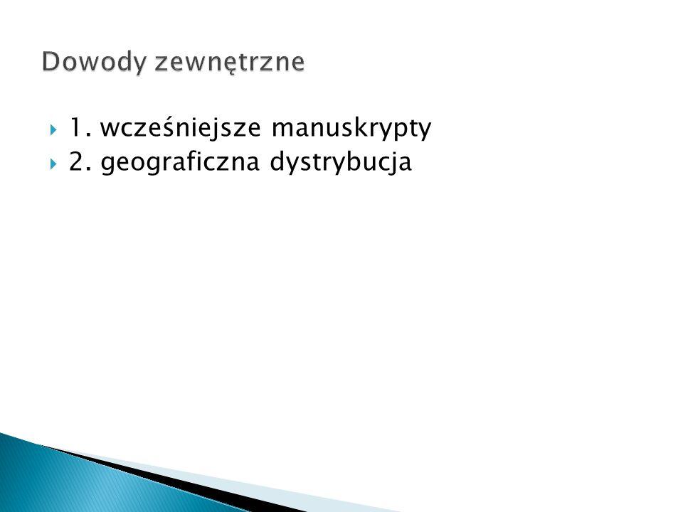  2. geograficzna dystrybucja