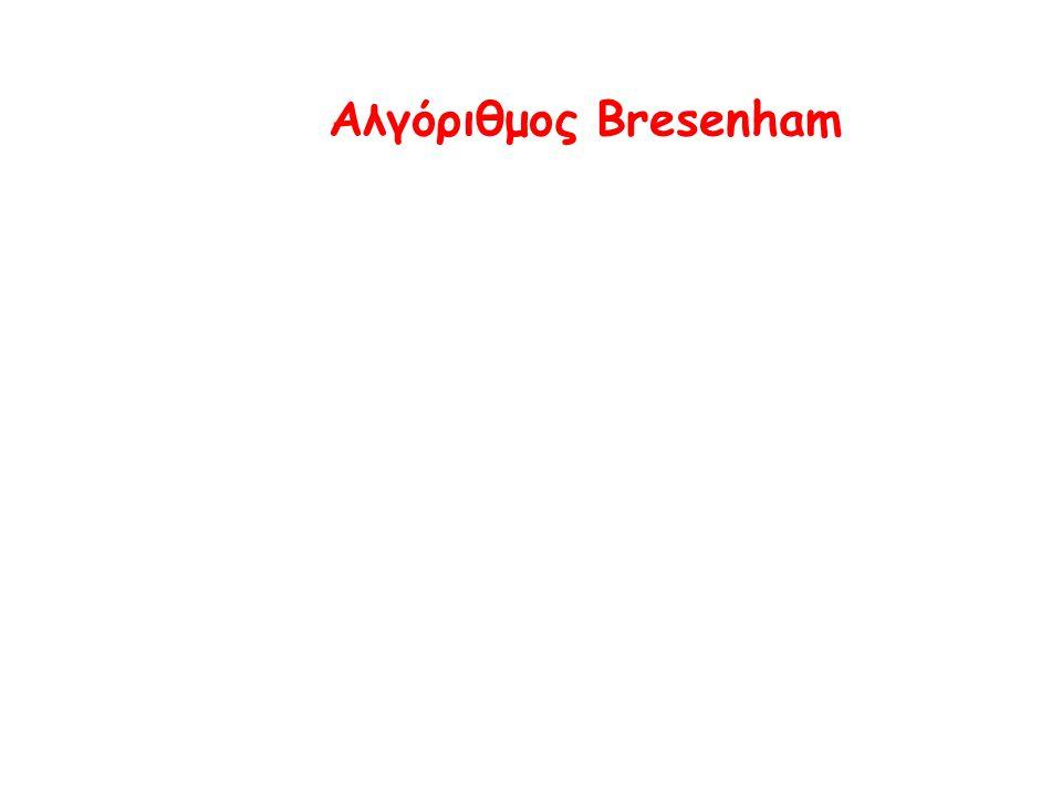 Αλγόριθμος Bresenham
