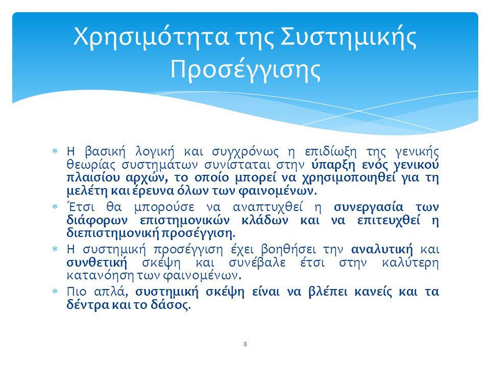  Η Οργάνωση και Διοίκηση (Management)  To Marketing και η Διοίκηση Πωλήσεων  Η Διοίκηση Παραγωγής  Η Χρηματοοικονομική Διοίκηση και η Λογιστική  Η Διοίκηση Ανθρωπίνων Πόρων  Η Διαχείριση Πληροφοριών 49 Κατηγορίες του Μάνατζμεντ