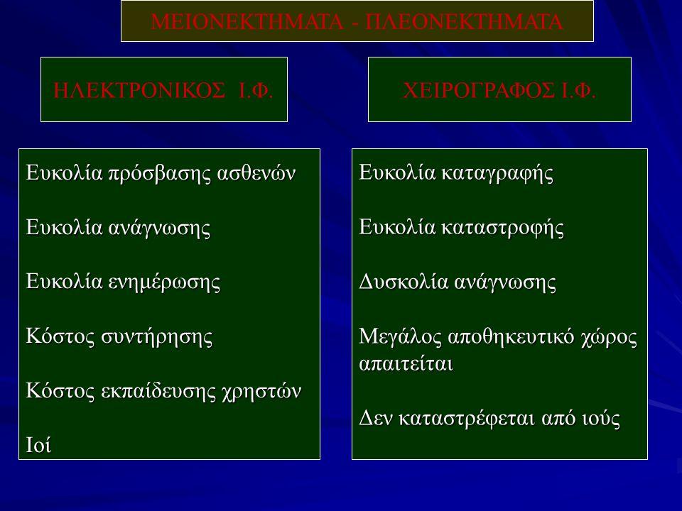 ΗΛΕΚΤΡΟΝΙΚΟΣ Ι.Φ.ΧΕΙΡΟΓΡΑΦΟΣ Ι.Φ.